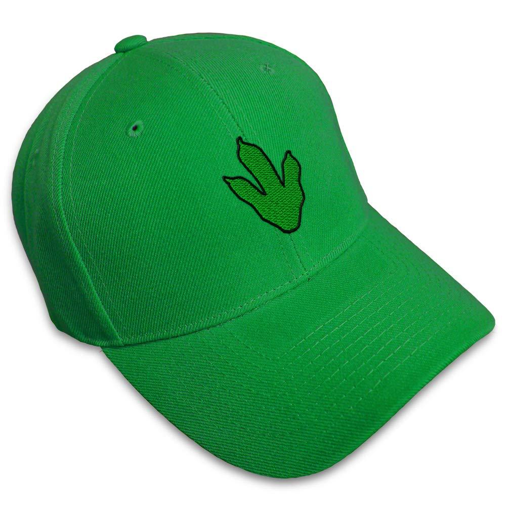 Custom Baseball Cap Dino Paw Style B Embroidery Acrylic Dad Hats for Men /& Women
