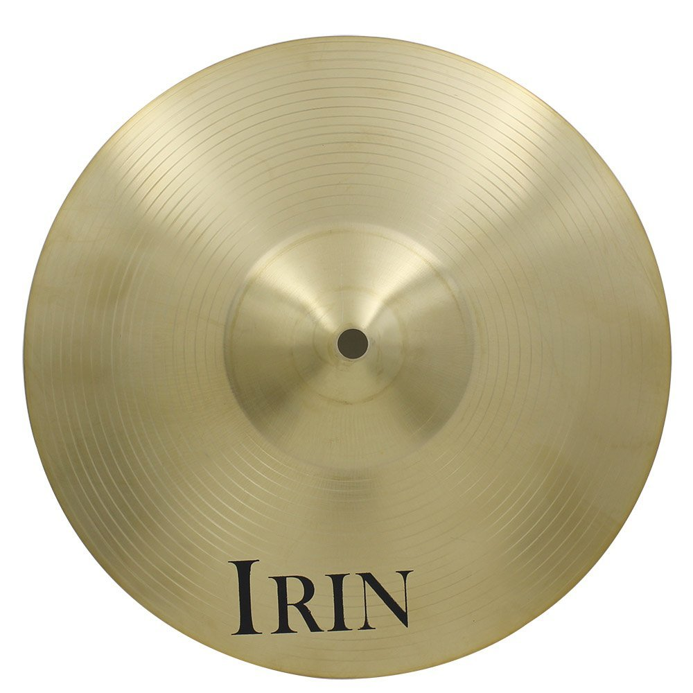 Andoer 18'' in size Crash Ride Hi-Hat Cymbal Brass Alloy for Drum Set