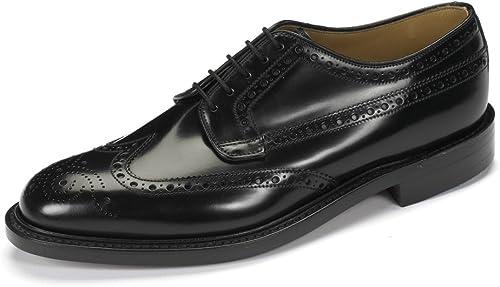 Loake Mens Formal Brogue Shoes Braemar