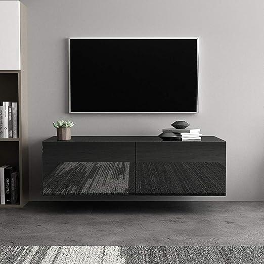 GOTOTP Mueble TV de Pared con Cajon Estilo Moderno TV Unidad ...