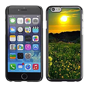 PC/Aluminum Funda Carcasa protectora para Apple Iphone 6 Sunset Beautiful Nature 42 / JUSTGO PHONE PROTECTOR