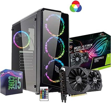 Ordenador de sobremesa Gaming Intel i5 9400 4.10 gHz 6core, Asus ...