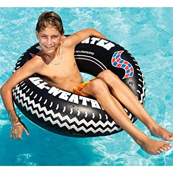 Monster Tire Ring Inflatable Pool Float