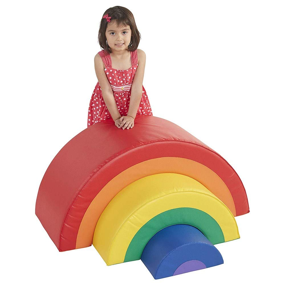 Softzone Nested Rainbow Play Foam Arches