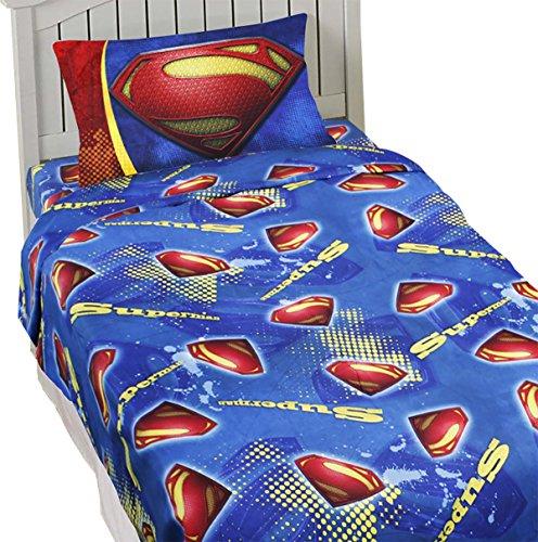 Superman Sheet Set Super Steel Bedding Accessories