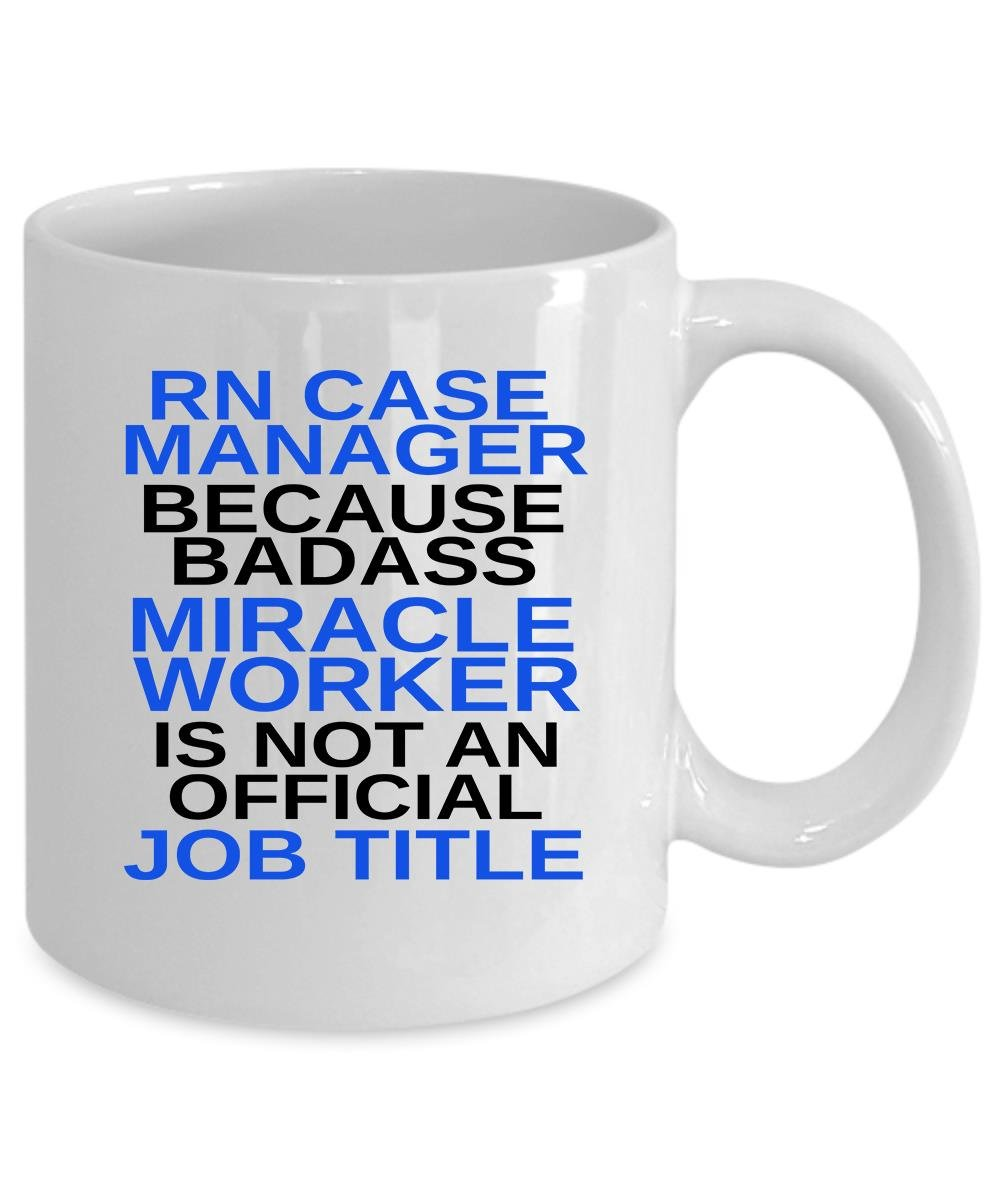 Amazon Rn Case Manager Coffee Mug 11 Oz Rn Case Manager Gift