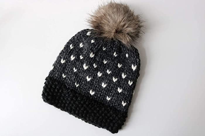 31afe2b5ac1 Image Unavailable. Image not available for. Color  Knitted Fair Isle Knit  Beanie Hat ...