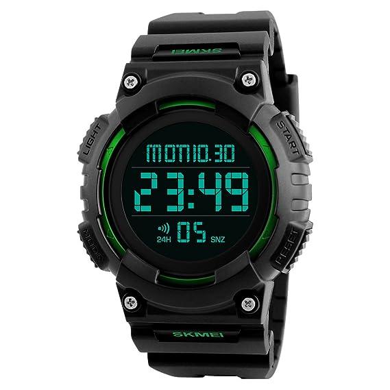 Amazon.com: Reloj digital deportivo con cronógrafo para ...