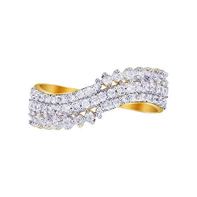 Buy Fashion Johari Trendy Fashionable Cz American Diamonds Latest Imitation Fancy Designer Ring For Girls And Women Gold Ring Lr 1103 8 At Amazon In