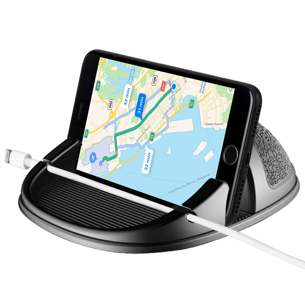 Beeasy Soporte Móvil para Coche,Universal Soporte Teléfono para Auto Phone Holder Car Mount Antideslizante Salpicadero para iPhone XS MAX X XR 8 7 6 ...