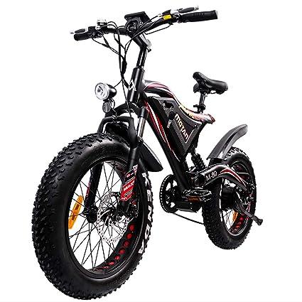 7784e846b19 Addmotor MOTAN Electric Bike 500W Brushless Motor Full Suspension Electric  Bicycle 48V 11.6Ah Battery 20