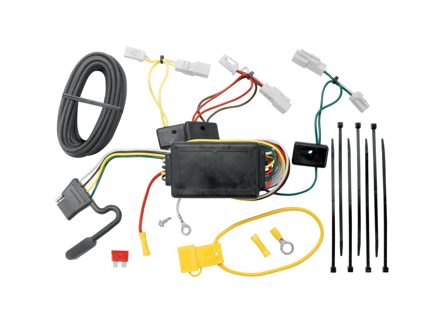 Amazon.com: Tekonsha 118405 T-One Connector Assembly with Circuit Protected  ModuLite Module: Automotive