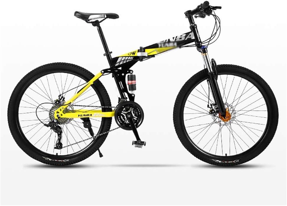 RYP Bicicleta para Joven Bicicletas De Carretera Las Bicicletas MTB MTB Plegable Camino de la Bicicleta de los Hombres de 24 Bicicletas de Velocidad Ruedas for Mujeres Adultas: Amazon.es: Hogar