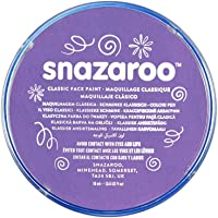 Snazaroo Face Paint 18 ml Individual Color, Lila, 1