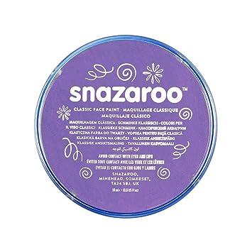 Snazaroo - Pintura facial y corporal, 18 ml, color lila