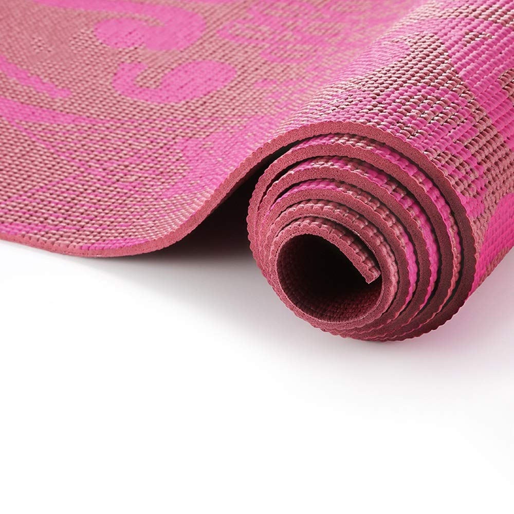 Amazon.com : LS-Exercise Fitness Yoga Mat - Men and Women ...