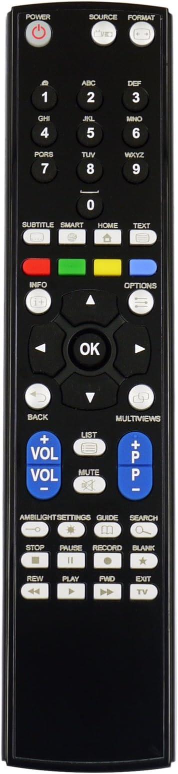 RM Series Reemplazo Mando a Distancia para Philips 22PFH4000/88: Amazon.es: Electrónica