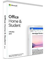 Microsoft Office 2019 Home & Student multilingual | 1 PC (Windows 10) /Mac | Dauerlizenz | Box