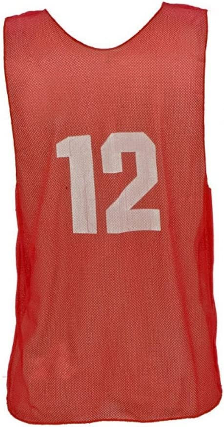 Champion Sports Adult Numbered Practice Vest