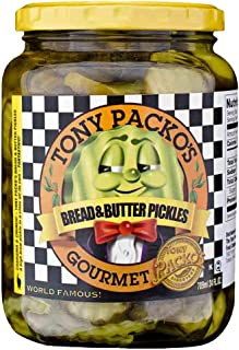 product image for Tony Packos Bread and Butter Pickles-24 oz.