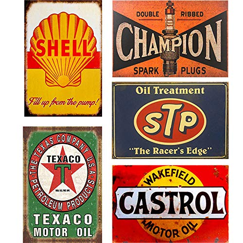 tin garage signs - 1
