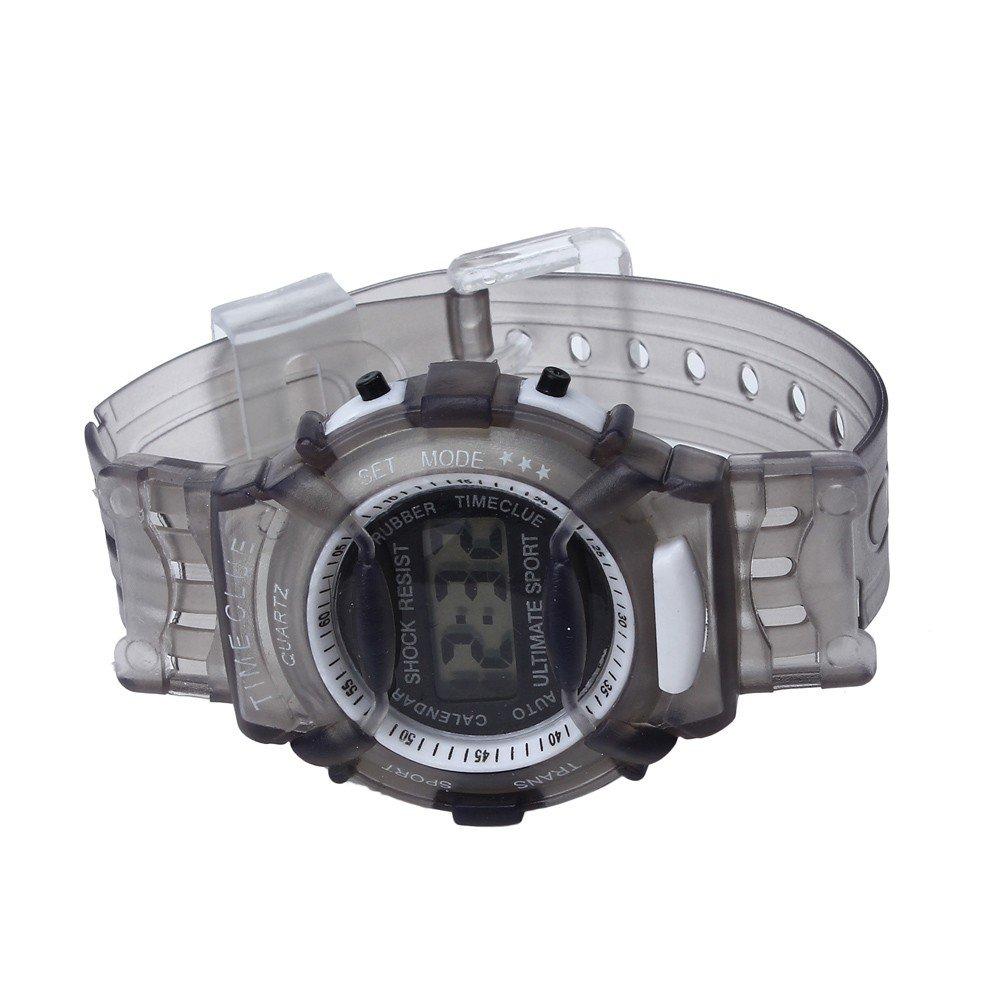 SMTSMT Students Waterproof Digital Wrist Sport Watch - Grey by SMTSMT (Image #3)