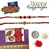 2 Rakhi Set for Your Brother RKC13