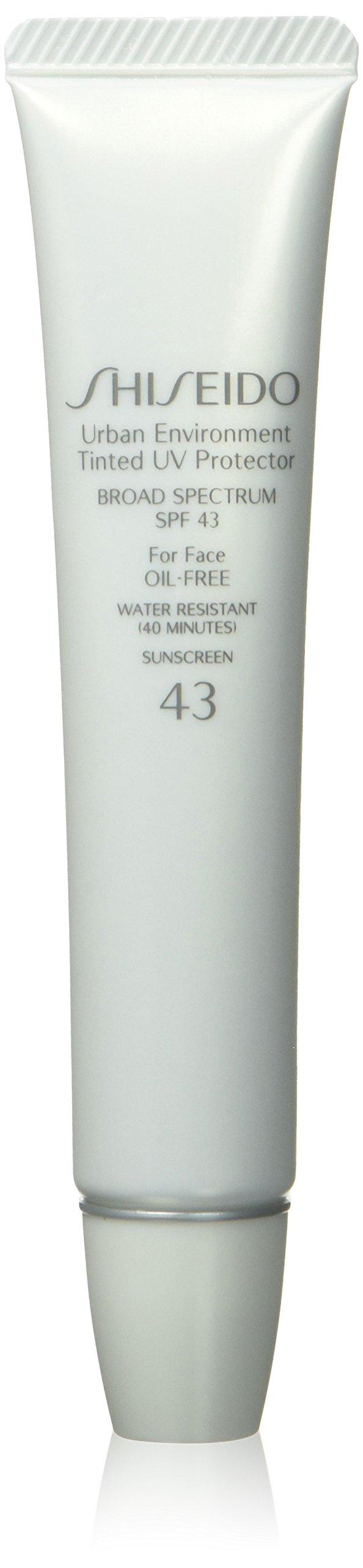 Shiseido Urban Environment Tinted UV Protector Broad Spectrum SPF 43, No. 3 for Face, 1.10 Ounce by Shiseido