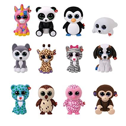 f9a4ad9161b Amazon.com  Boxed Collectable Mini Beanie Boo Figures Blind Box Toy Random  Box Series 1  Garden   Outdoor