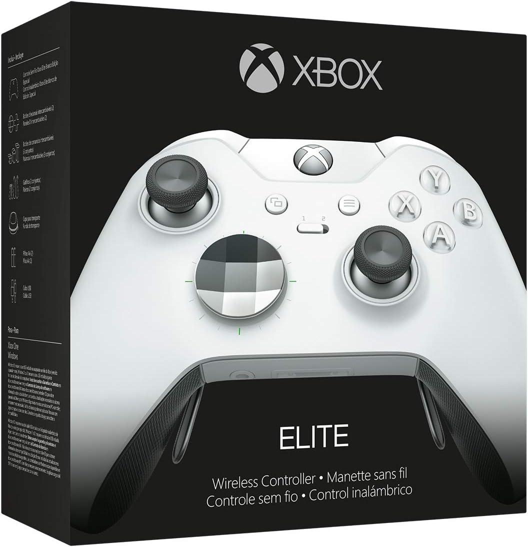 Amazon com: Xbox Elite Wireless Controller – White Special