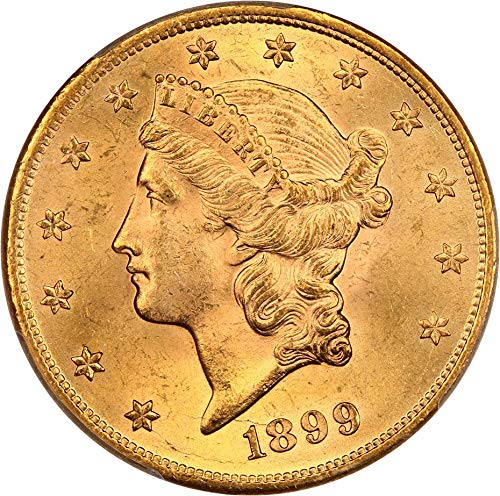 1899 P $20 Liberty Gold Twenty Dollar MS64 ()