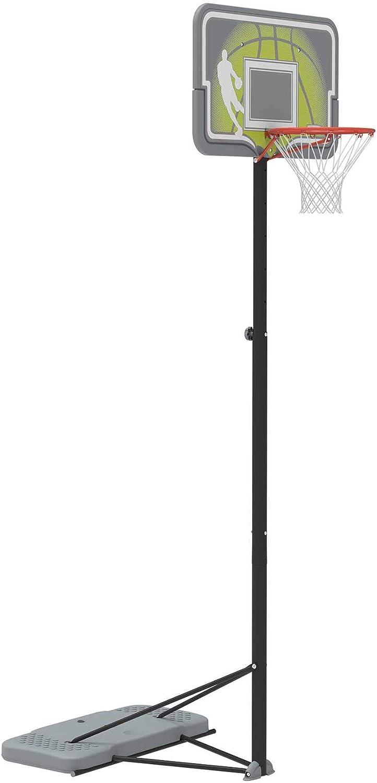 Gray, 44 with BaseGel Lifetime Height Adjustable Portable Basketball System 44 Inch Backboard