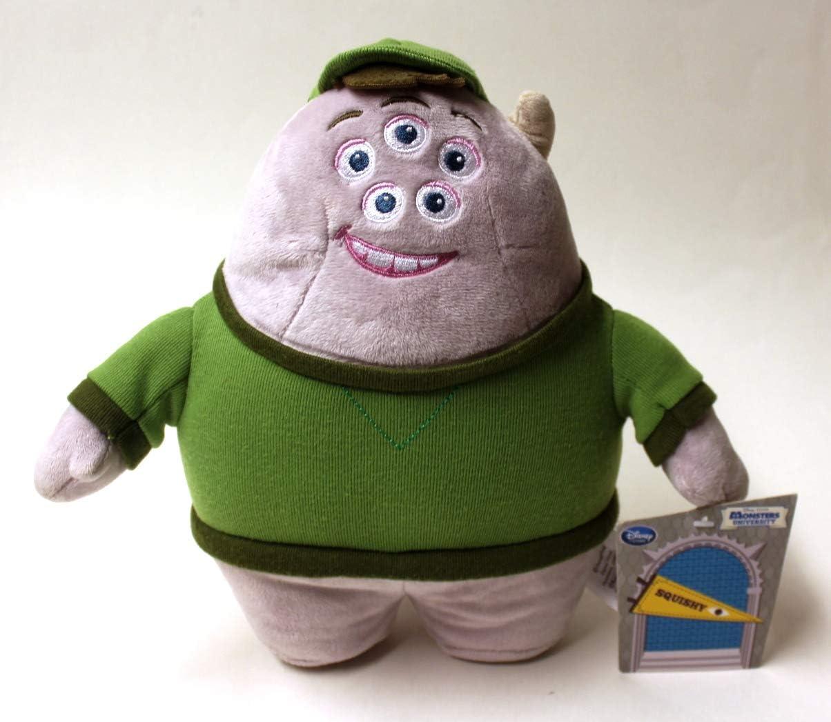 Amazon Com Squishy Monsters University Monsters Inc 10 Plush Toys Games