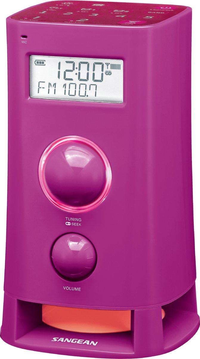 Sangean K-200 Reloj Digital Blanco - Radio (Reloj, Digital, AM,FM, 87,5-108 MHz, 520-1710 kHz, 3 W): Amazon.es: Electrónica