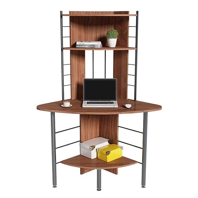Mesa para laptop Creativo Simple Mesa de Esquina Hogar Ordenador ...