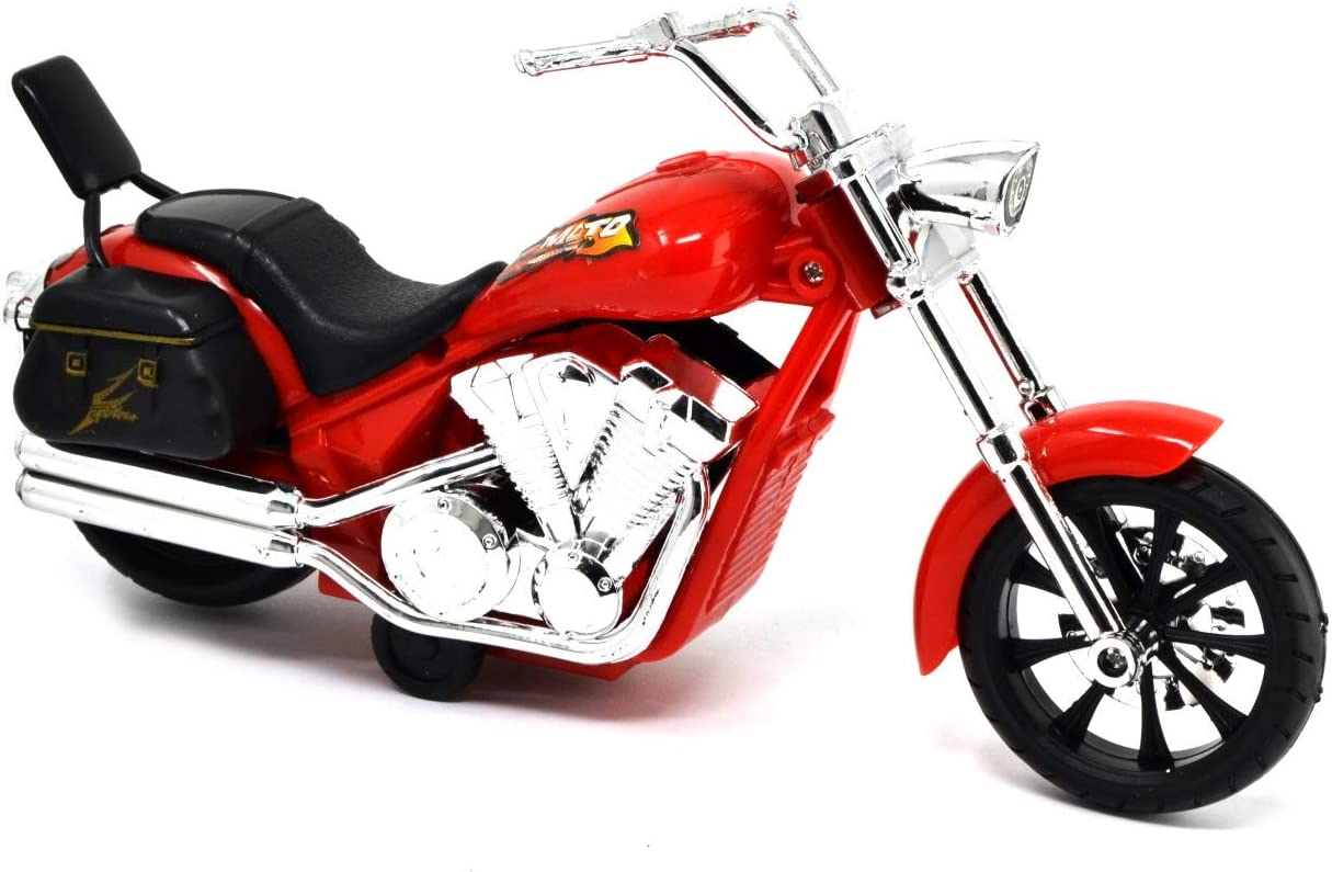 VENTURA TRADING 21cm Moto Chopper Accionado por fricci/ón Modelo a Escala Motocicleta Moto de Juguete