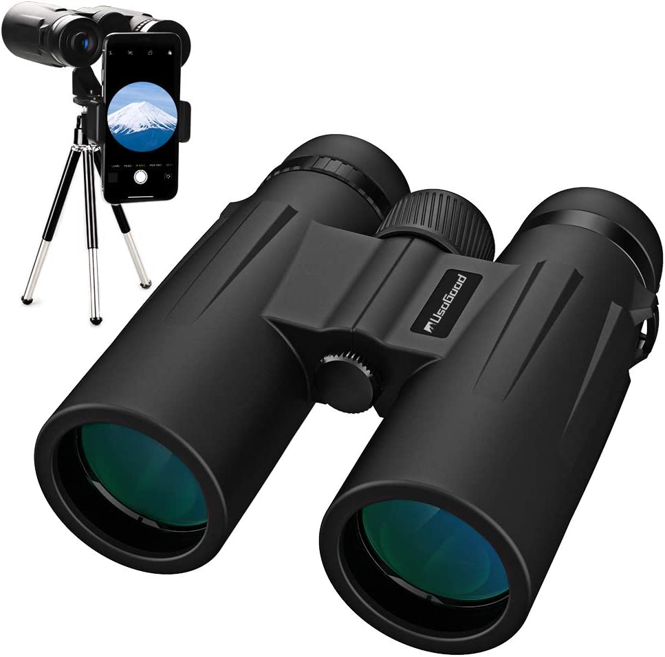 Usogood 12x50 Binoculars for Adults with Tripod