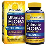 Renew Life – Ultimate Flora Probiotic Men's Complete – 90 billion – 30 vegetable capsules For Sale