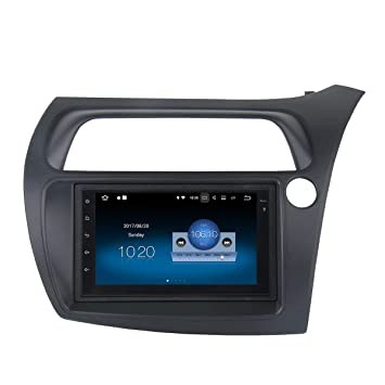 """Dasaita 7"""" 2 Din Android 8.0 Autoradio Radio de Coche Bluetooth Manos Libres para Honda"""