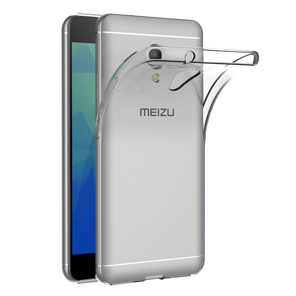 AICEK Funda Meizu M5S, Transparente Silicona Fundas para ...