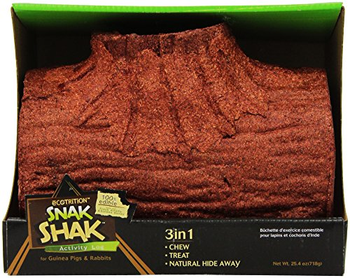 3 in 1 Snak Shak Guinea Pig & Rabbit Edible Activity Log Pet (Honey Treat Guinea Pig)