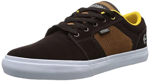 Etnies Barge Ls, Zapatillas de Skateboard para Hombre, BLACK CHARCOAL RED, 44 EU: Etnies: Amazon.es: Zapatos y complementos