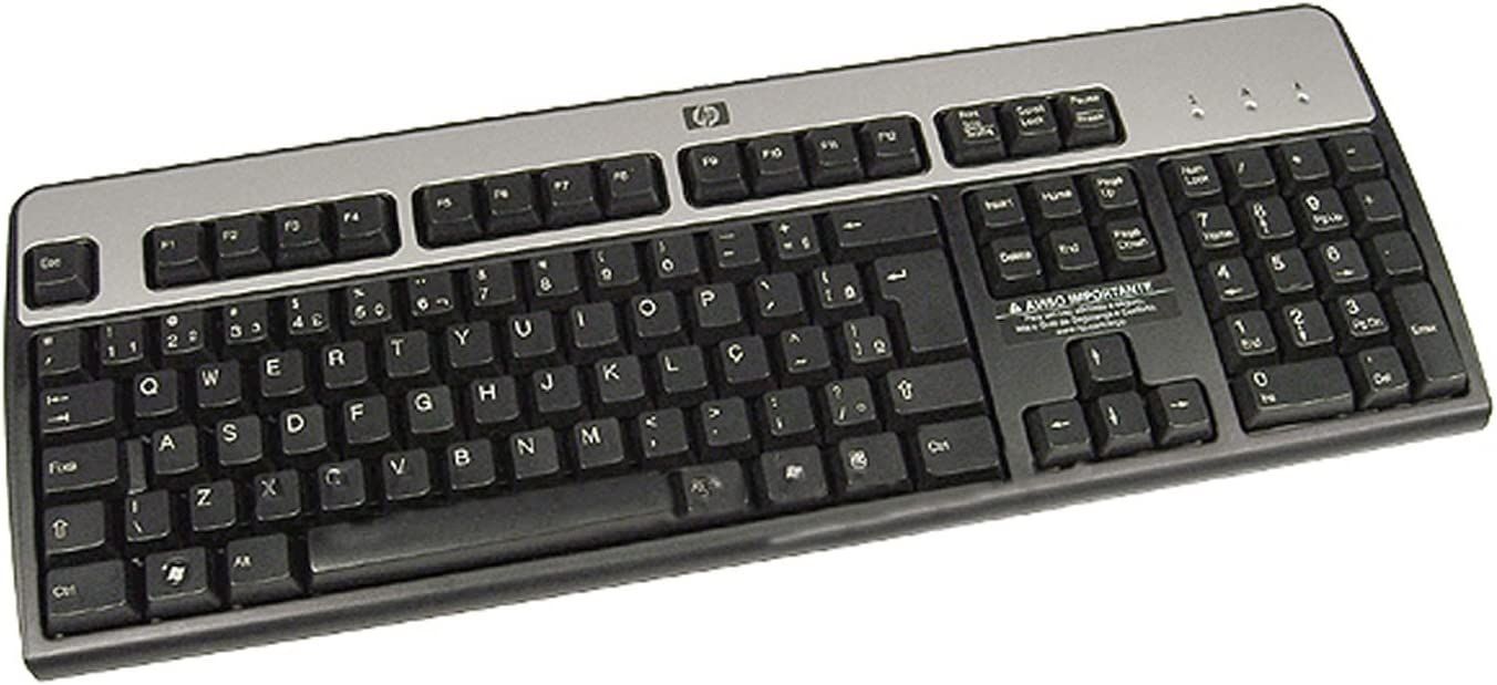 BRAZILLIAN HP KU-0316 USB Keyboard 537746-201