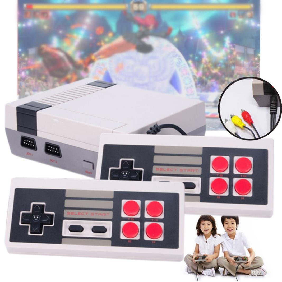 Startview NEW Retro Classic Game Consoles Built-in 500 Childhood Classic Game Dual Control, Love Life And Enjoy The Game