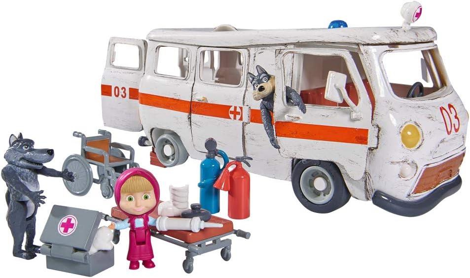 Simba–Masha y Michka Ambulancia, 109309863, Color Blanco