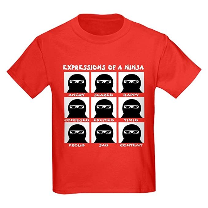 Amazon.com: CafePress - Expressions Of A Ninja - Kids Cotton ...