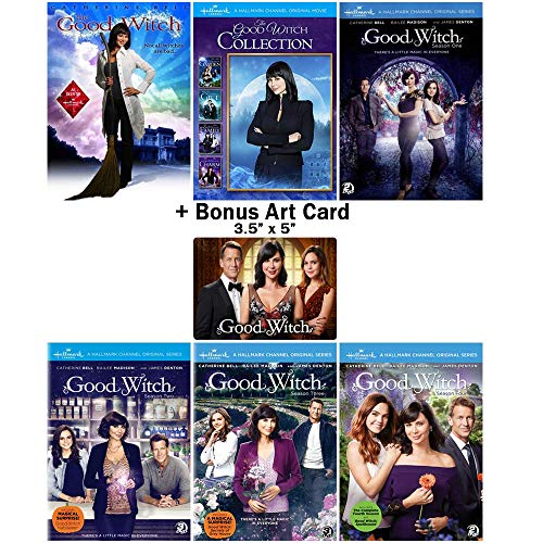 The Good Witch: Complete TV Series Seasons 1-4 + Movies 1-5 DVD Collection with Bonus Art Card (Good Witch Dvd Collection)