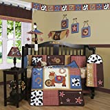Geenny Boutique Horse Cowboy 13 Piece Baby Crib Bedding Set