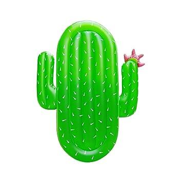 Boby Hinchable Cactus Flotador Inflable Gigante Colchoneta Piscina para Adultos Cactus 177 x 123 x 16 Centímetros: Amazon.es: Juguetes y juegos