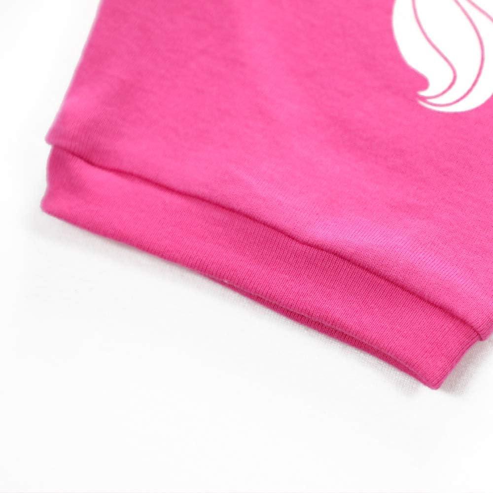 Bmeigo Conjuntos De Pijamas Peque/ños Ni/ños Ni/ña Beb/é Ropa De Tops Y Pantalones Trajes De 2 Piezas Estampado Lindo De Verano Edad 2-7 A/ños Algod/ón